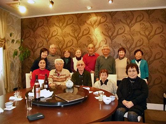 2016年忘年会 中華レストラン 凛