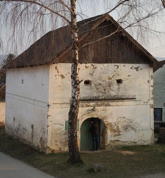 Weinbaumuseum vor der Renovierung