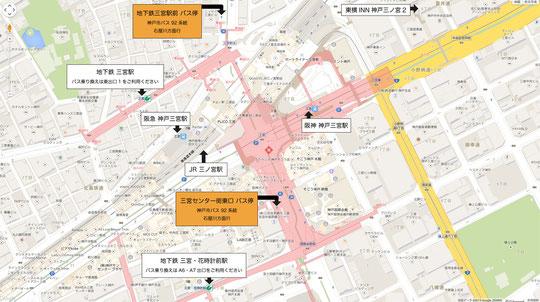 バス停地図