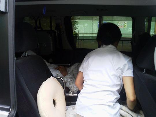 介護タクシー長距離移動