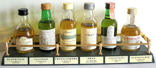 Scotch Single Malt minibar