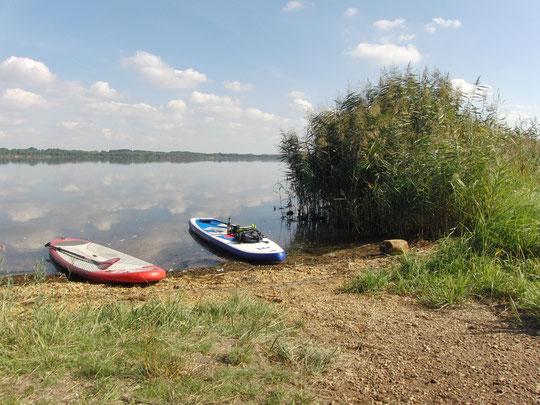 Pause am Raßnitzer See
