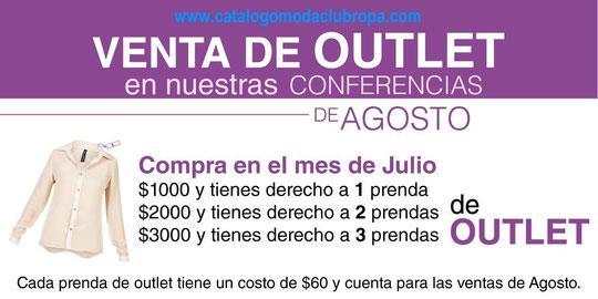 venta de outlet , ropa de moda mexicana, modaclub