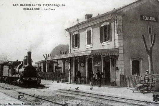 Gare de Reillanne