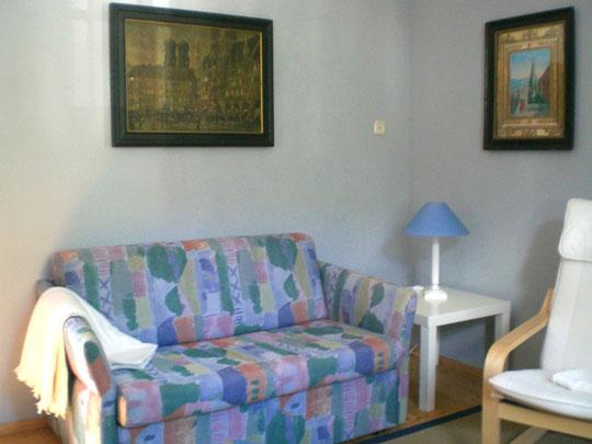 Wohnung OG, Sofa