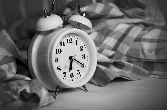 Wecker zum aufstehen am Morgen