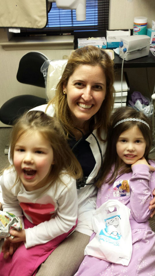 Get the kids to the dentist before the cavities get to their teeth!