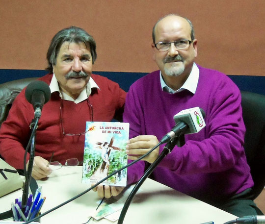 Con José Martínez locutor de ONDA RADIO 92