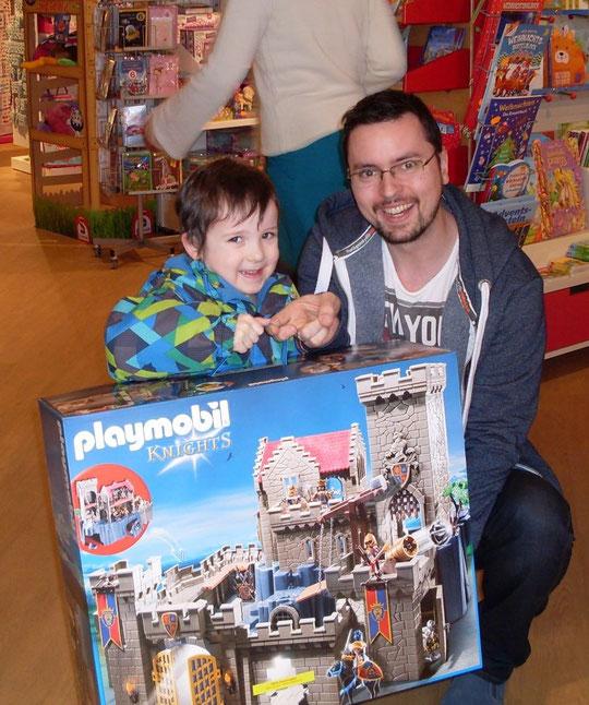 Playmobil Gewinnspiel Hauptgewinner Julian