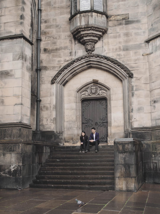 prewedding shoot edinburgh