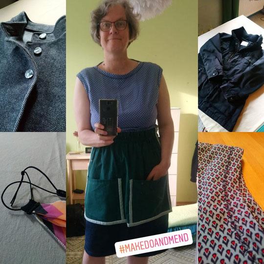 Kleidung, die ich repariert oder aufgehübscht habe. © Griselka 2020