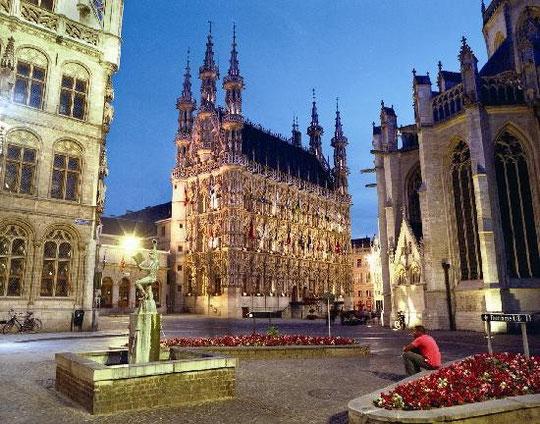 Louvain - ville où je suis allée pour le Powertex