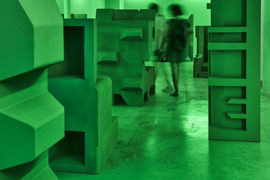 """Berdager & Péjus, """"Communauté invisible"""", Friche Belle de Mai, Marseille © Jeanchristophe Lett"""