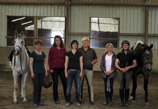 Nadeem, Judith, Tina, Jenny, Tanja, Brigitte, Chantal, Brioso