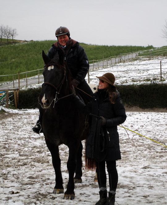 Annette, ich und Kurti: Er macht das sooooo toll! :-)