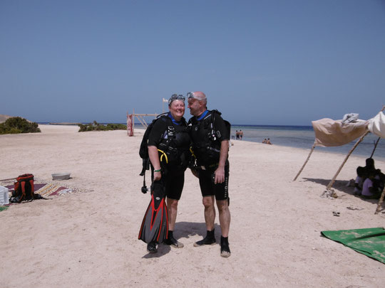Am Strand vor Marsa Egla