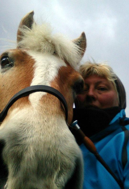 Unser Selfie: Amor und ich :-)