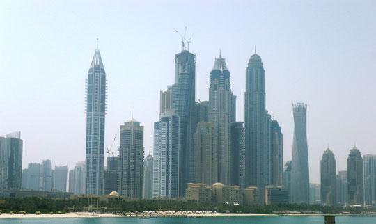 Dubai: Wolkenkratzer en masse