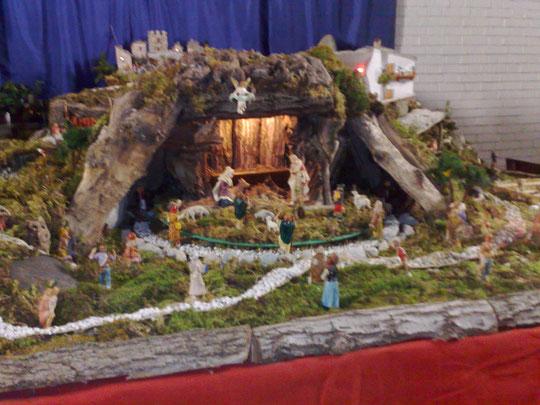 Presepio san Pio X capanna