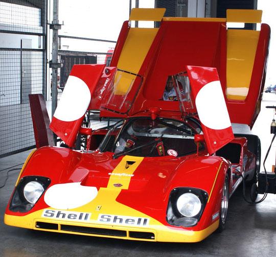 Ferrari 512 M - by Alidarnic (Modena Trackdays 2009)