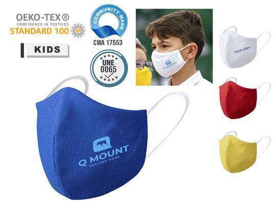Wiederverwendbare Hygienemaske KIDS