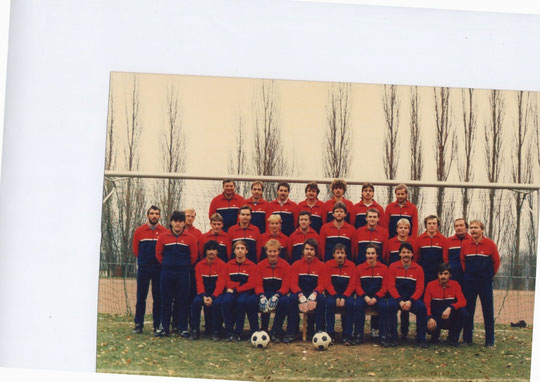 SGS Senioren -  Kader Saison 1985 - 1986