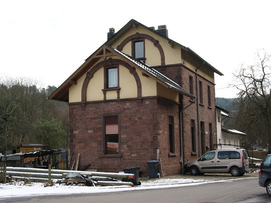 """Historisches Bahnhofsgebäude """"Pluwig-Hammer"""""""
