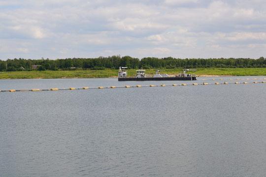 Sandgewinnung Silbersee II bis 2012