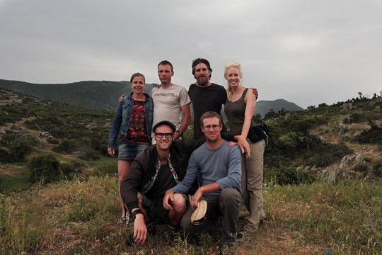 Cynthia, GJ, Bert, Laura, me and Jeroen. © Laura Tiemann