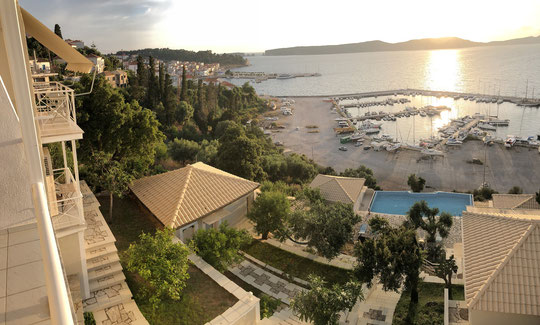 The view from our balcony. Not bad for a schooltrip! (click to enlarge)