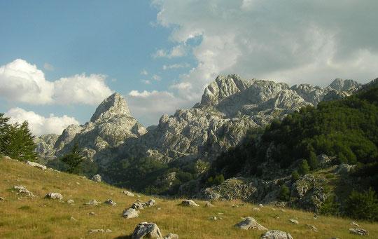 Prokletije mountains, Montenegro, July 2012