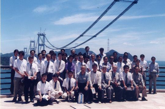 来島海峡大橋 1997年7月