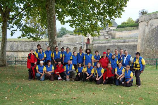 Les équipes du Loiret en 2011 à Blaye