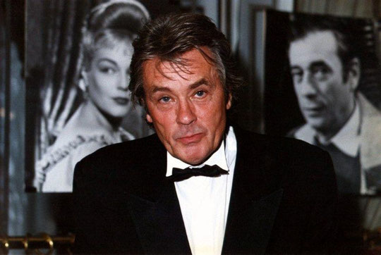 Alain DELON - Fouquet's - Paris - 1996 © Anik COUBLE