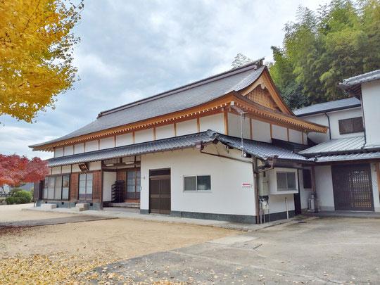 神戸市北区岡場駅前 依報山 浄土院 正楽寺