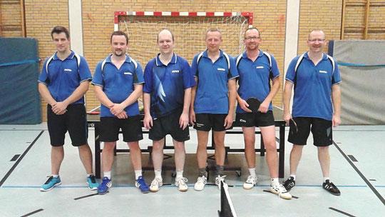 von links nach rechts: Andreas Nagel, Danny Kruse, Hans-Jörg Dietze, Ralf Stegemann, Matthias Schuh, Andre Loose