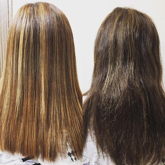 髪質改善!柔らかく、しなやかでツヤも出ます!