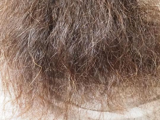 乾燥が進みすぎた毛先