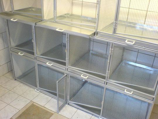 Zuchtboxen nach Maß in Alu, Stahl und Edelstahl