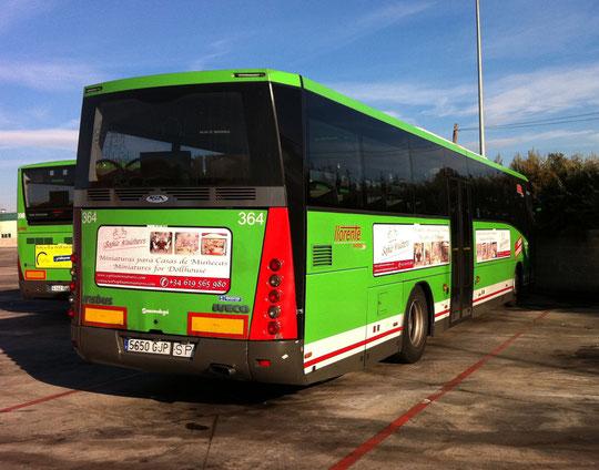 Varios autobuses por la perifería de Madrid,  desde noviembre del 2011 hasta la actualidad