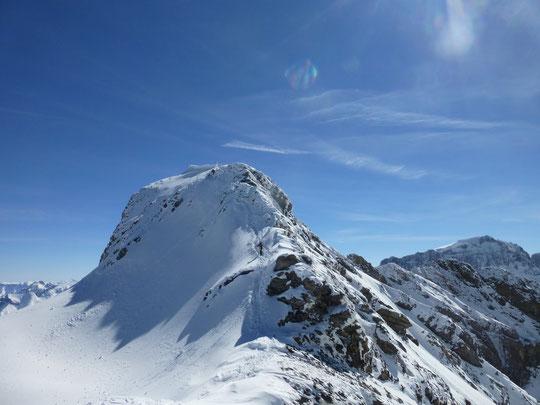 Skitour, Clariden, Überschreitung Tüfelsjoch, Teufelsjoch, Klausenpass, Urnerboden, Schweiz, Glarnerland, Gipfelgrat