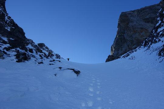 doldenhorn, Skitour, Skihochtour, Kandersteg, Tagestour, Doldenhornhütte, Couloir, Doldenstock