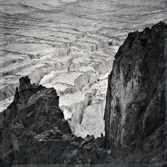 "Fotografie Alexandra Hinz-Wladyka ""glacier visit"""