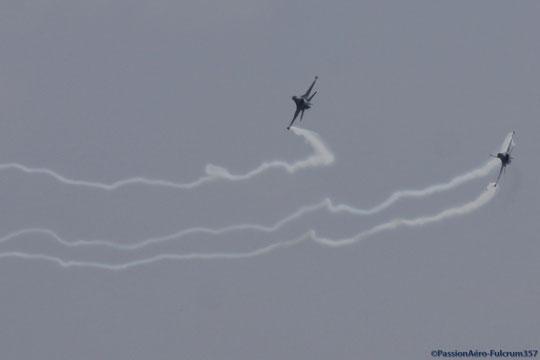 F-16 MLU Duo Belge