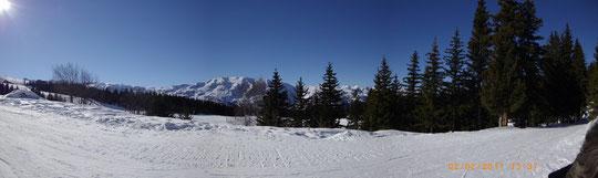 Méribel en Savoie - Février  2011