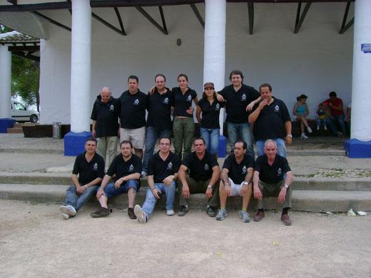 Miembros de la junta directiva en un dia de convivencia