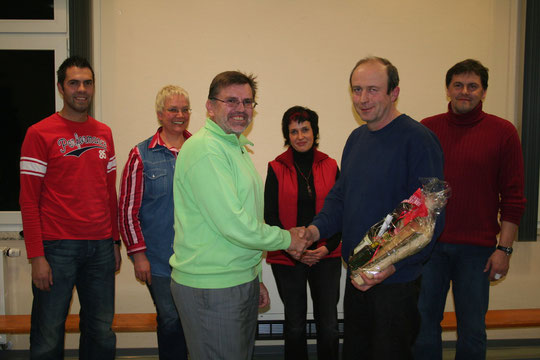 Verabschiedung unseres langjährigen Vorstands Horst Wagner in 2007