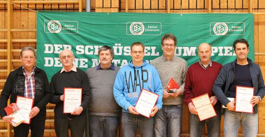 Preisträger HFV-Ehrenamt mit dem Kreissieger Stefan Fehl