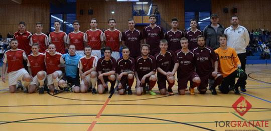 Die Finalisten des Futsal-Hallenmasters  -   Foto: Viktoria Görlich