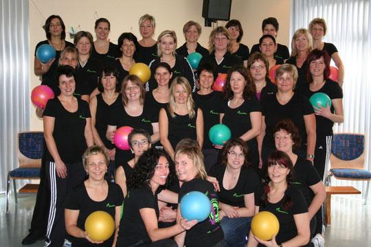 die Fitnessgruppe in 2010